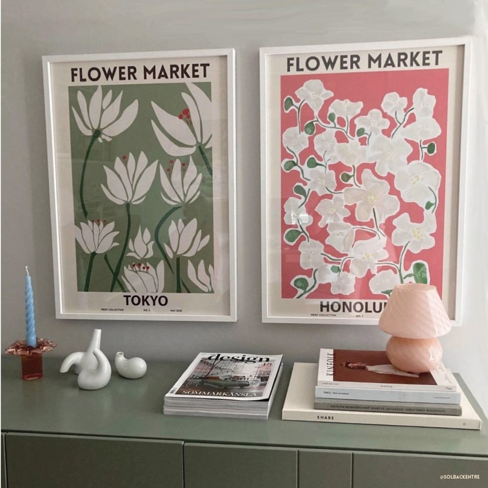 Flower Market Prints