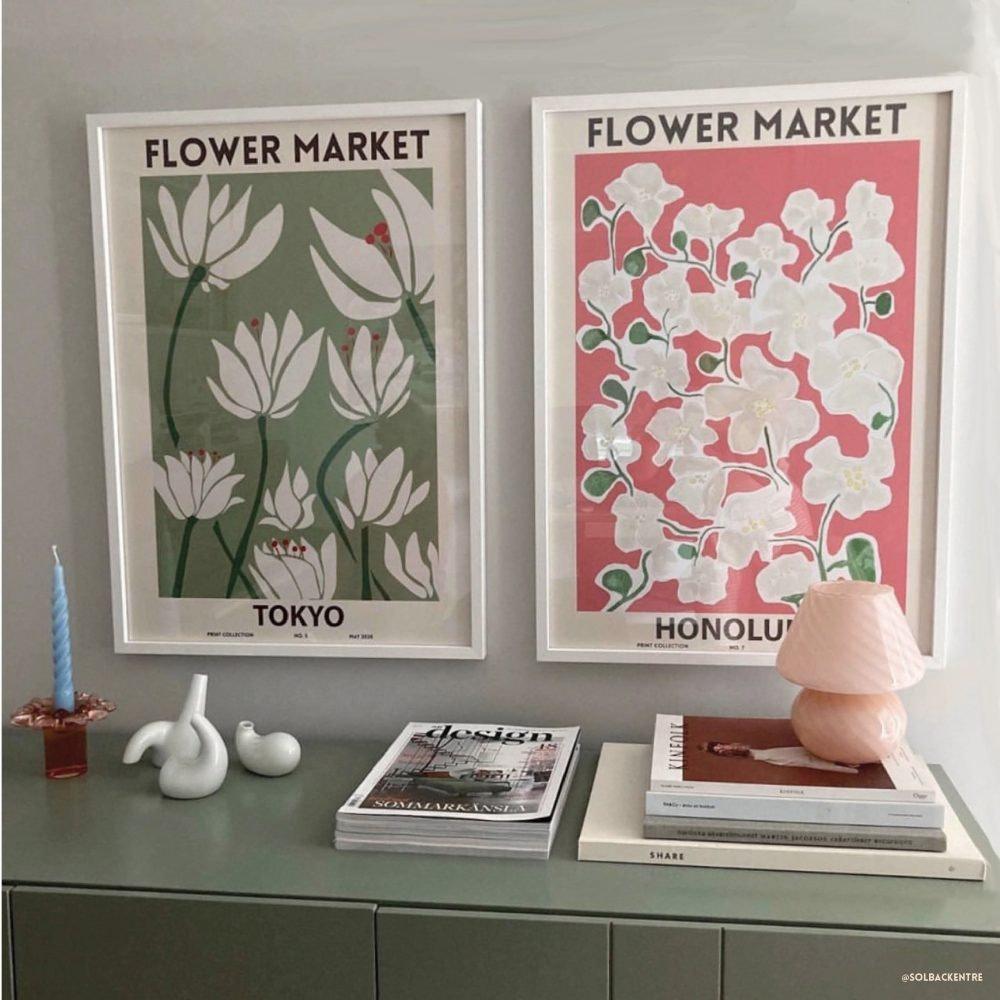 Flower Market Prints