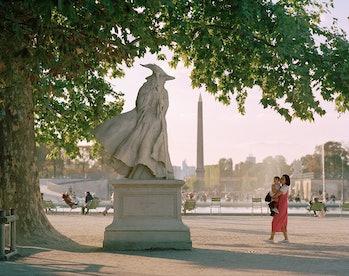 Gandalf statue in Paris