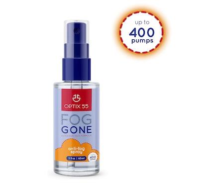 Optix 55 Anti-Fog Spray for Reflective Lenses
