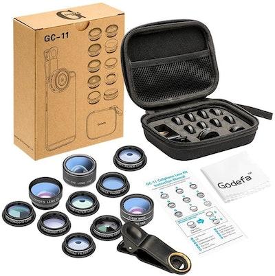 Mocalaca 11-in-1 Cell Phone Camera Lens Kit