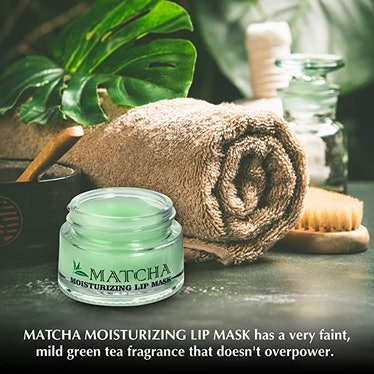 Once Upon A Tea Moisturizing Green Tea Matcha Sleeping Lip Mask