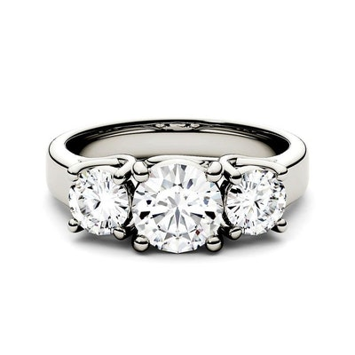 Forever One Three-Stone Ring