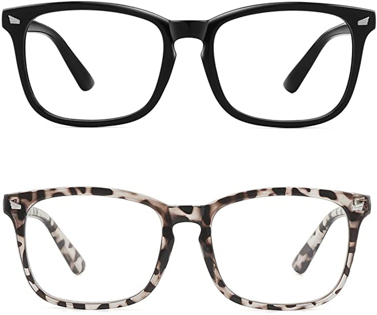MEETSUN Blue Light Blocking Glasses (2-Pack)