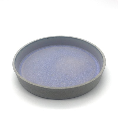 "FS Cazuela   8.5"" x 1.5""   Greystone/Lavender"