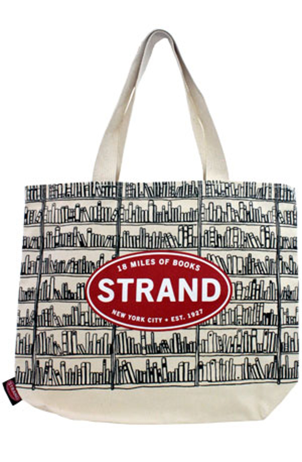 Large Tote: Lost in the Stacks