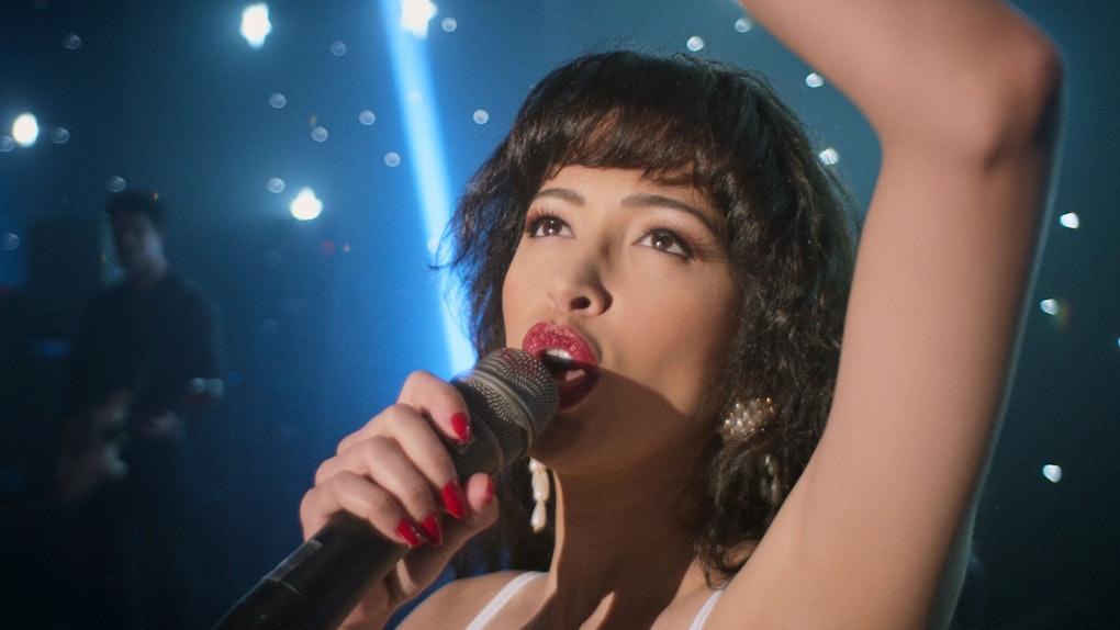 Selena Quintanilla's family had nice reactions to Netflix's 'Selena: The Series.'