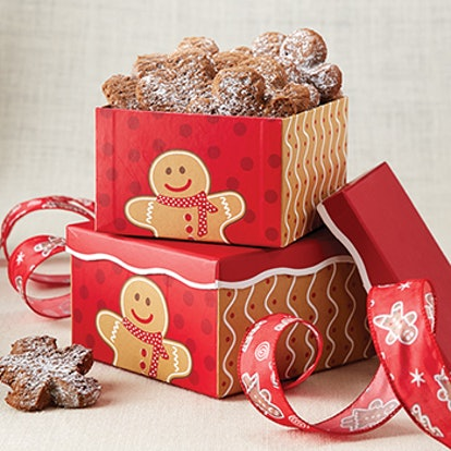 Gingerbread Cookie Gift Boxes