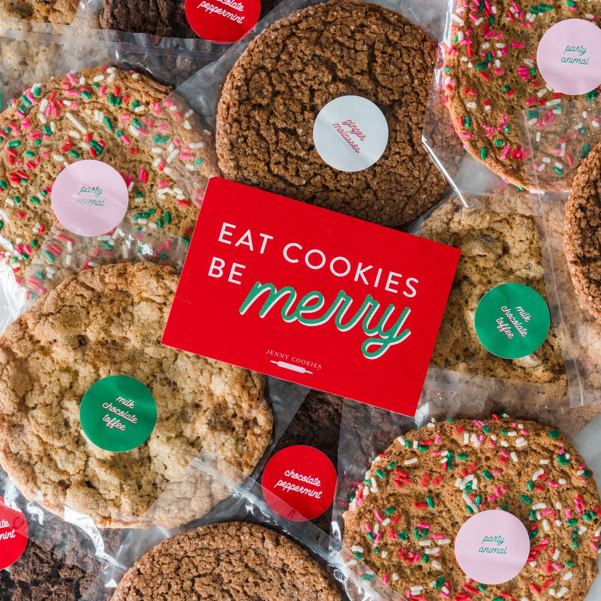 Holiday Classic Cookies: FOR SHIPPING