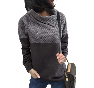 BTFBM Fashion Quilted Pullover