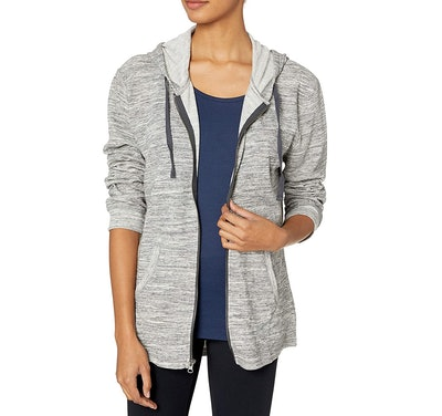 Hanes French Zip-Up Hoodie Sweatshirt