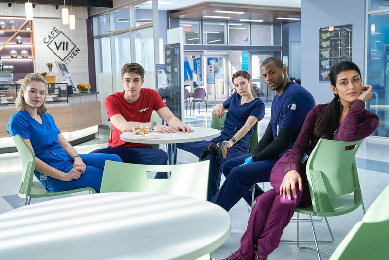 The cast of Nurses via the NBC press site