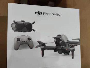 DJI FPV drone leak