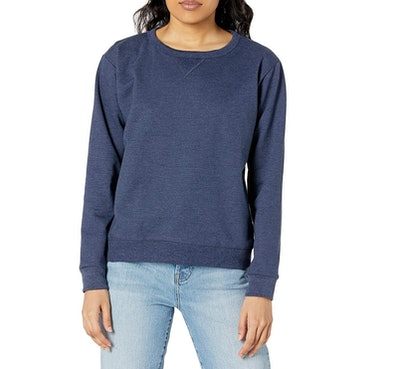 Hanes V-Notch Pullover Fleece Sweatshirt