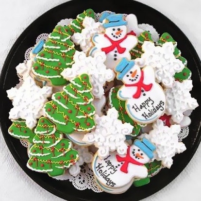 Personalized Holiday Cookies