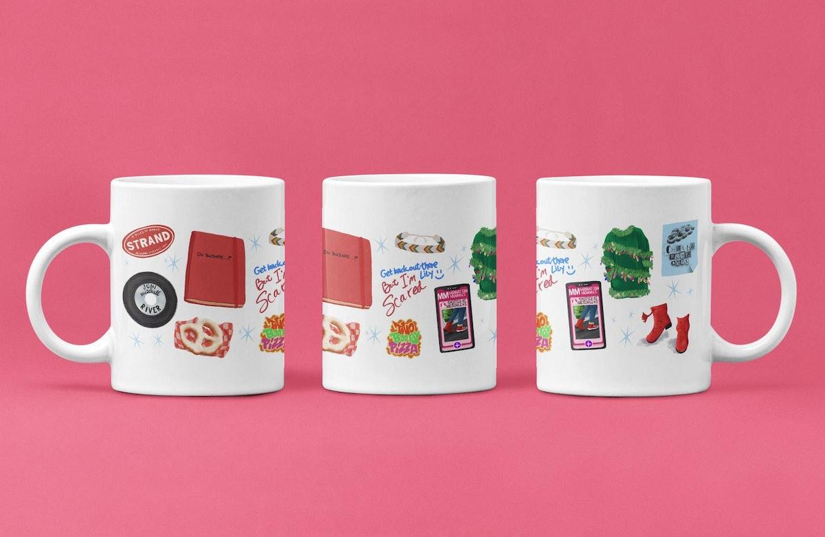 Dash and Lily Inspired Wrap Around Mug