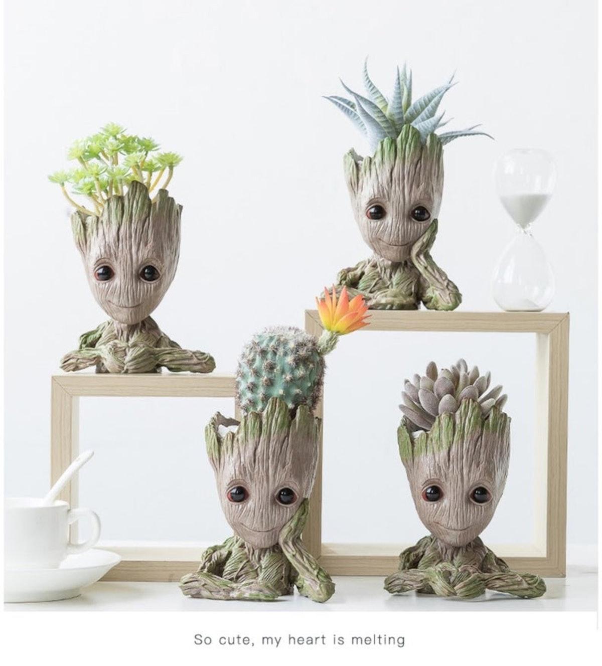 Groot Flower Pot