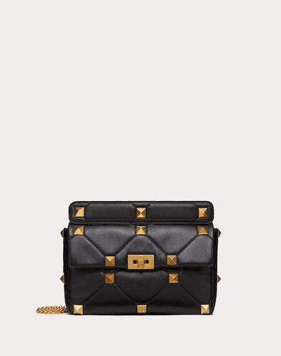 Roman Stud Nappa Chain Bag