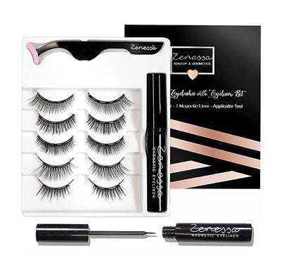 Zenessa Magnetic Eyelashes with Eyeliner Kit