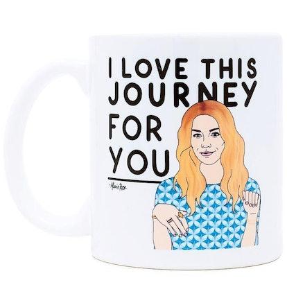 I Love This Journey for You Ceramic Coffee Mug