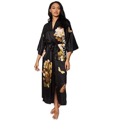 KIM+ONO Silk Kimono Long Robe