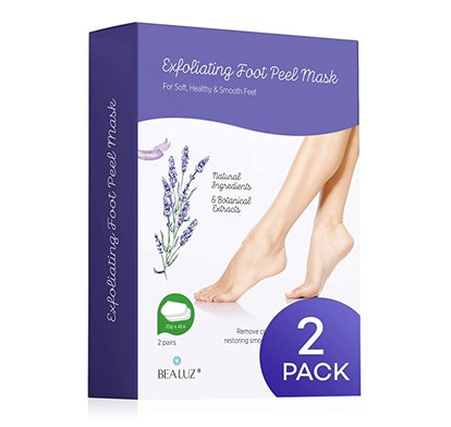 BEALUZ Exfoliant Foot Peel Mask (2 Pairs)