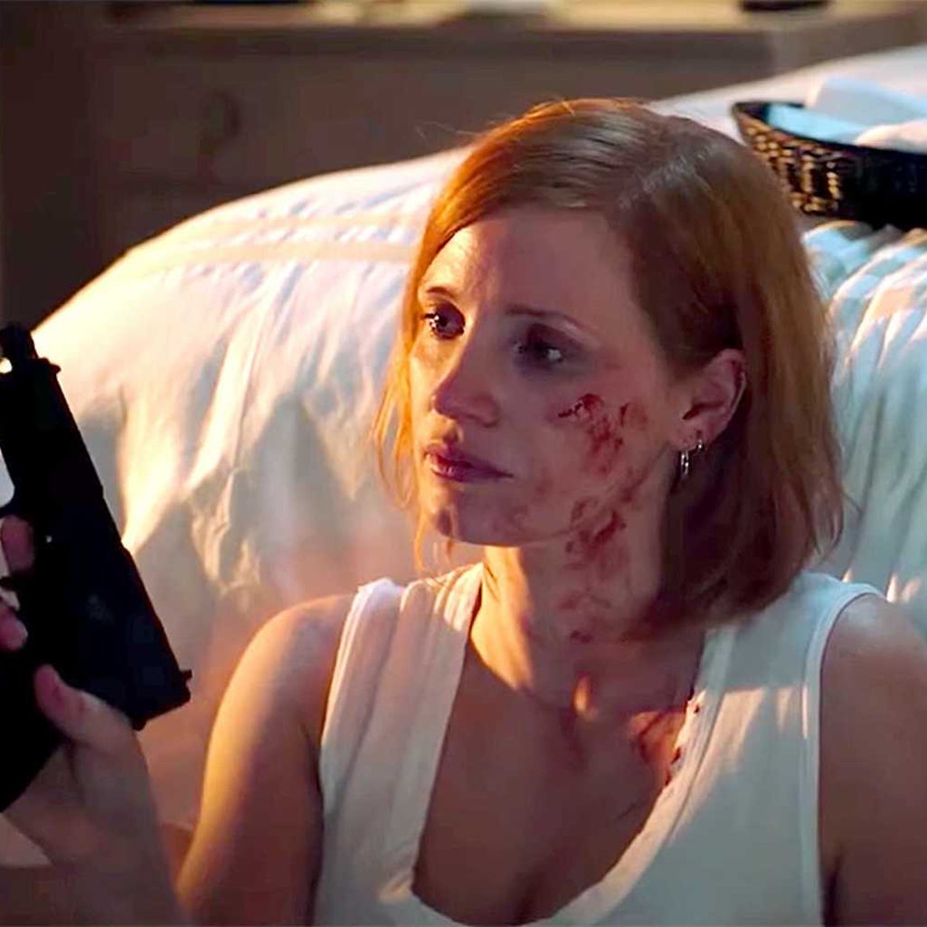Jessica Chastain in the 2020 film 'Ava.'