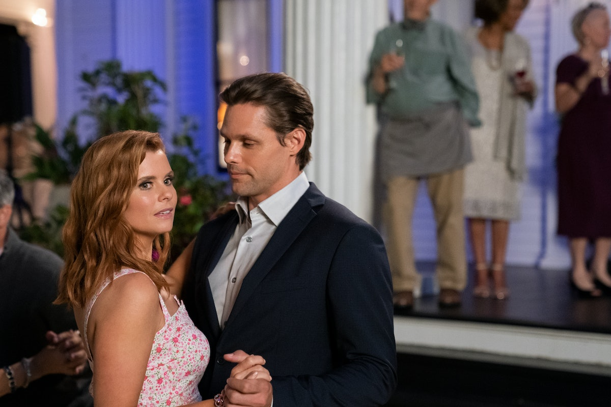 GARCIA SWISHER as MADDIE TOWNSEND and JUSTIN BRUENING as CAL MADDOX in episode 105 of 'SWEET MAGNOLIAS'