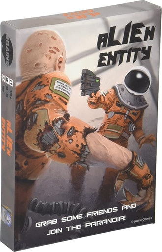 Alien Entity the Chaotic Cooperative Strategy Card Game of Space Paranoia