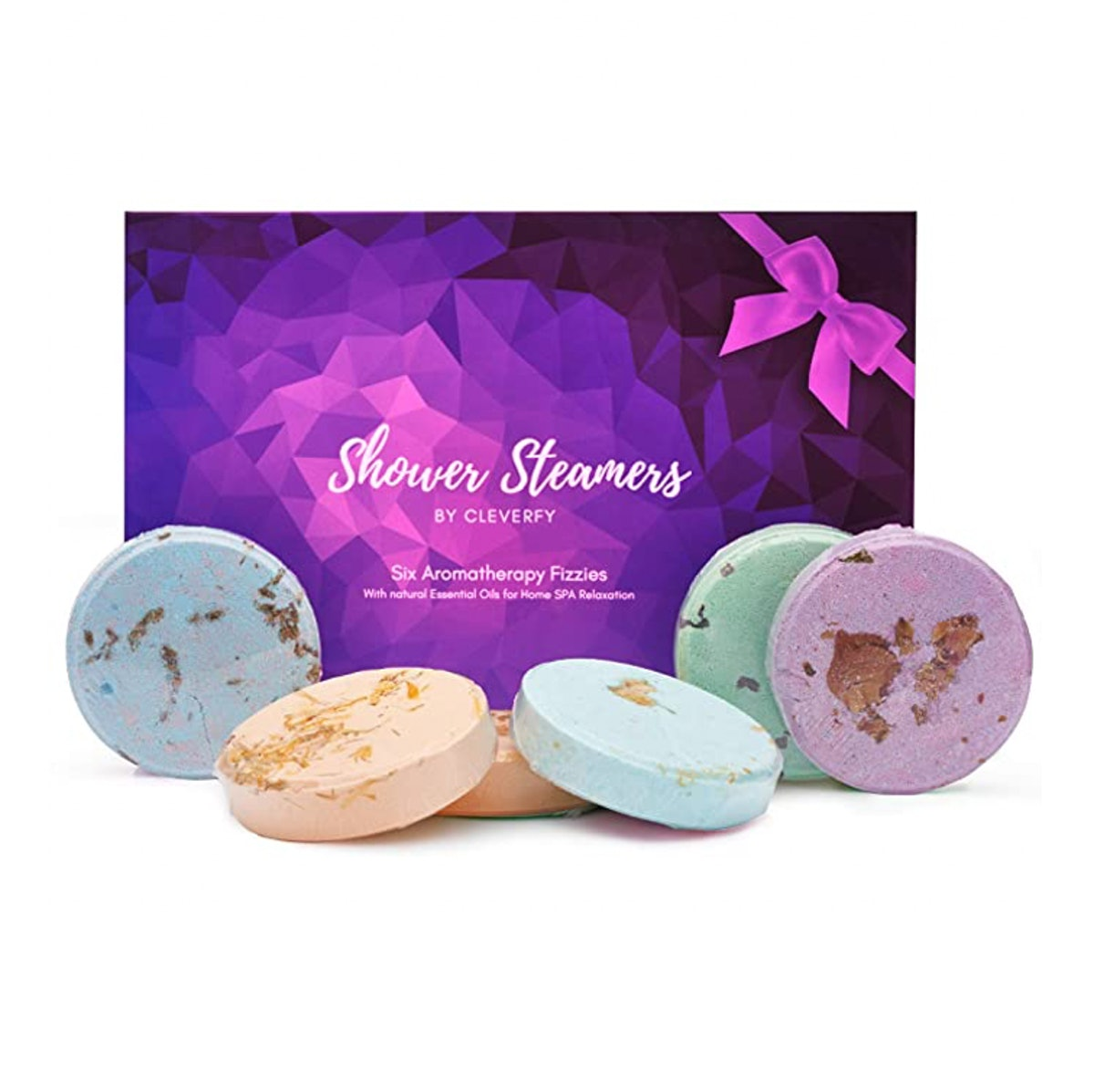 Cleverfy Aromatherapy Shower Steamers (6-Piece)