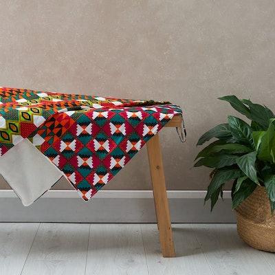 African Print Blanket