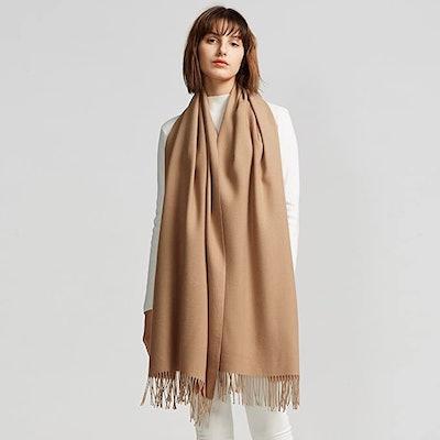 MaaMgic Large Soft Cashmere Feel Pashmina Shawls