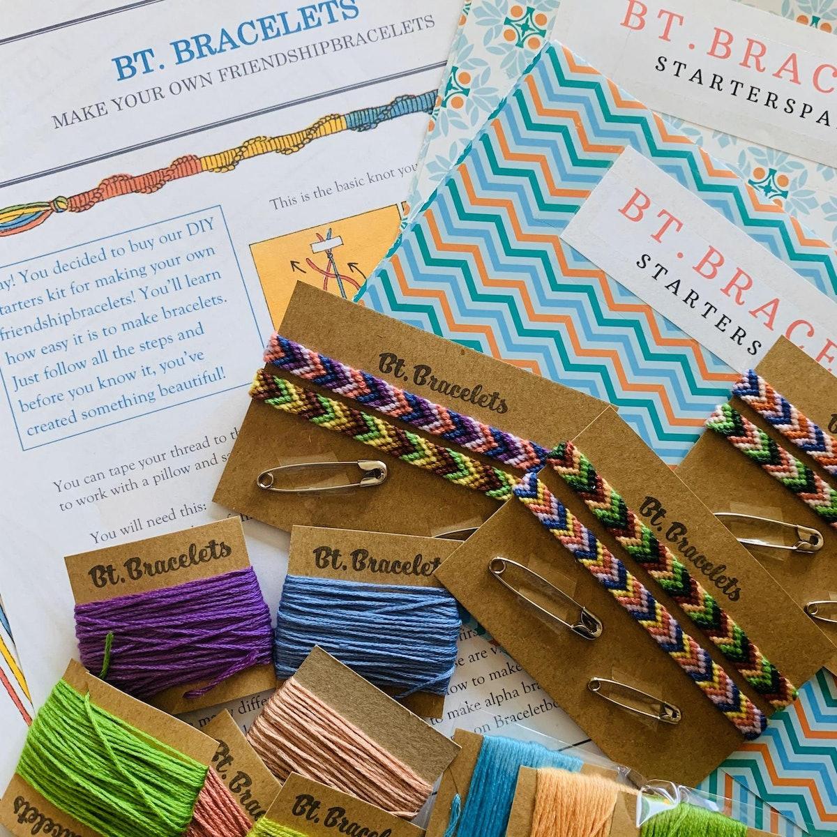 DIY Starters Kit Friendship Bracelets
