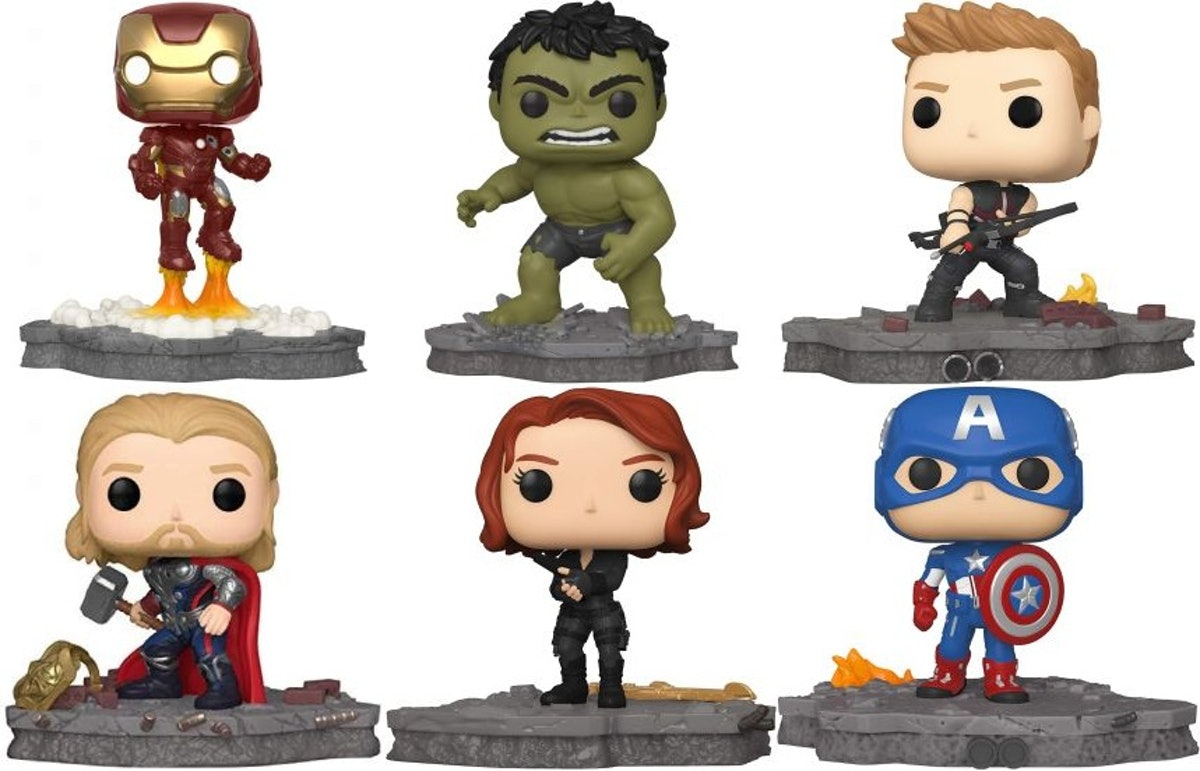 Funko Pop! Deluxe, Marvel: Avengers Assemble Series