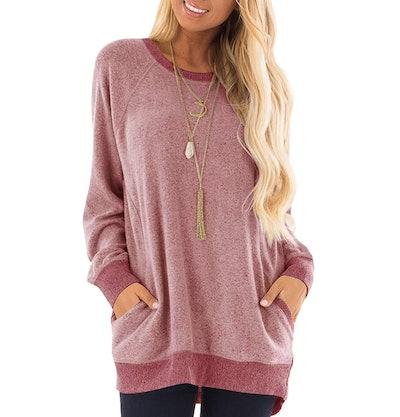 GADEWAKE Tunic Sweatshirt