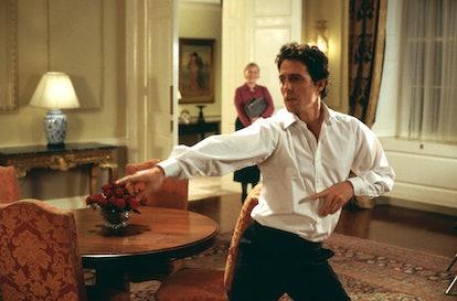 Hugh Grant dancing in 'Love, Actually'