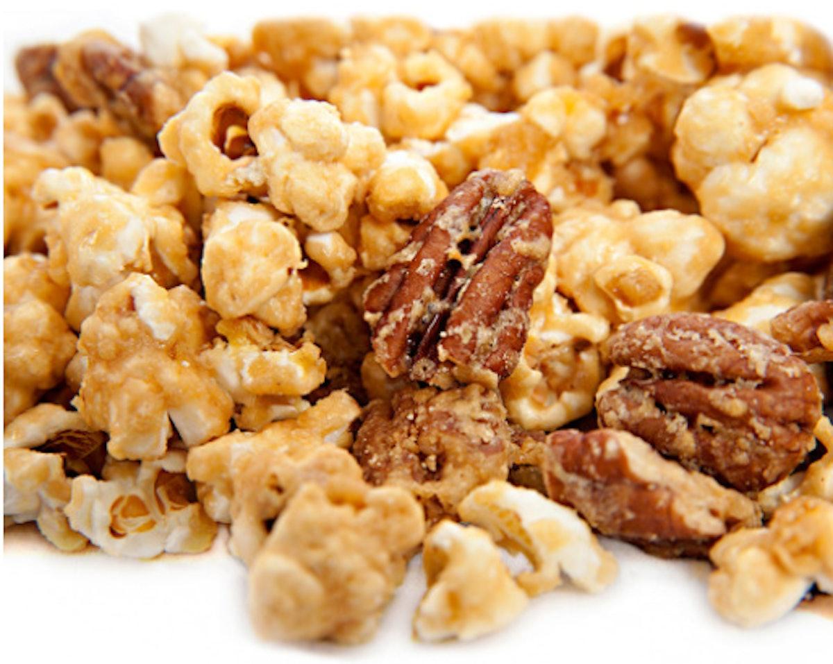 Bourbon Pecan Popcorn