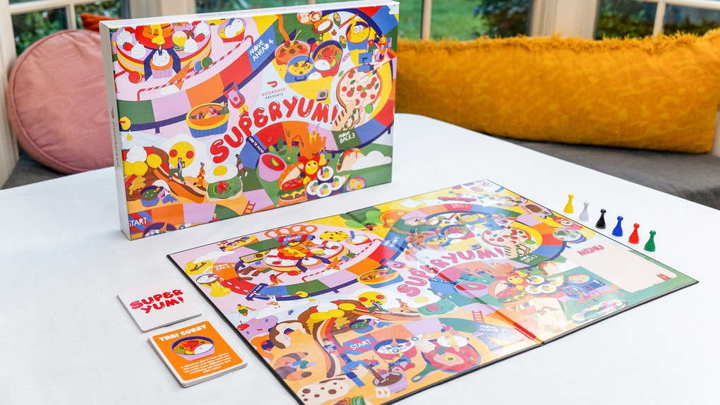 DoorDash's Superyum! board game launches on Dec. 7.
