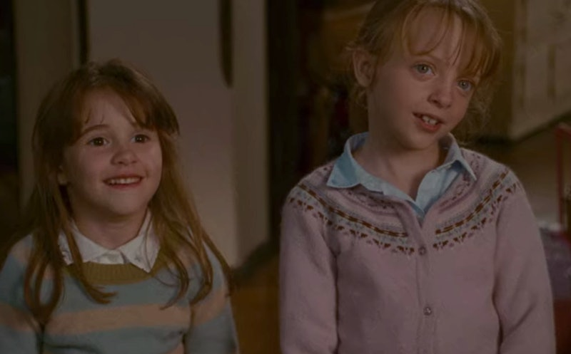 Miffy Englefield and Emma Pritchard as Sophie and Olivia in The Holiday