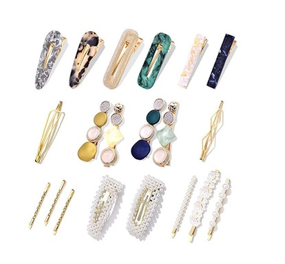 Cehomi Pearl Hair Clips (20 Pieces)
