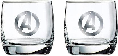 Marvel Glass Set