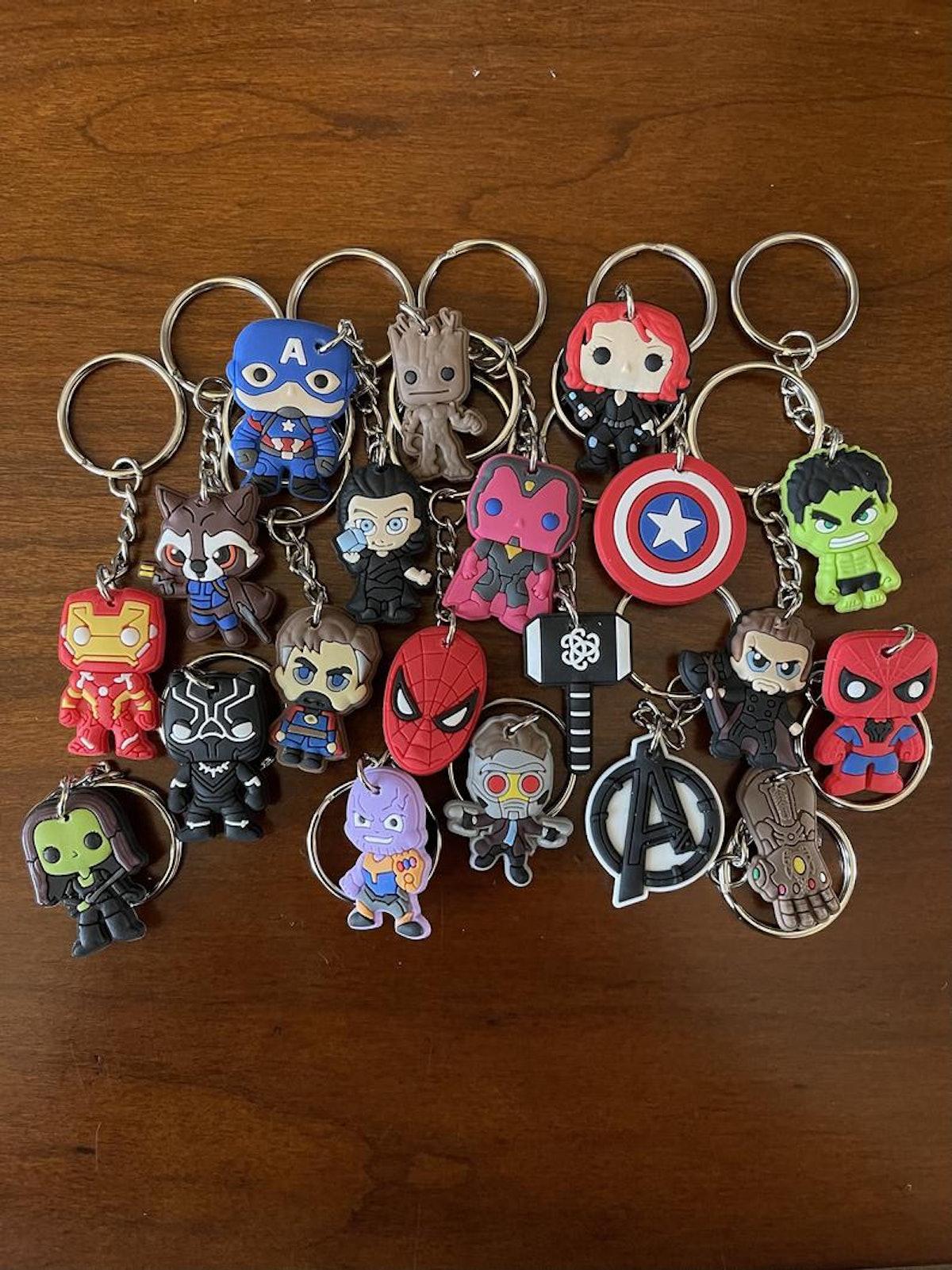 Avengers Marvel Keyrings