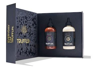 TRUFFLIN Sriracha & Ranch VIP Set-Gourmet Hot Sauce w/Aged Peppers & No Added Sugar,Creamy Ranch w/O...