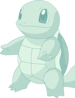 A Squirtle from the game Pokemon