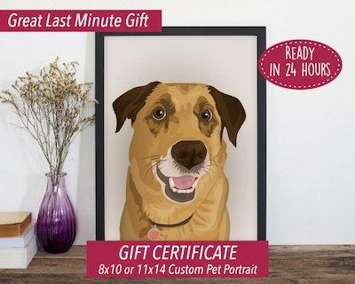 Personalized Pet Portrait