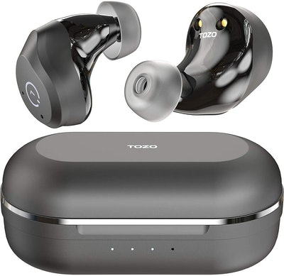 TOZO Active Noise-Cancelling Wireless Earbuds