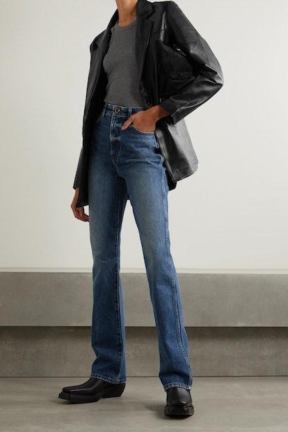 + NET SUSTAIN Brooke leather blazer