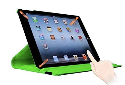 SuperLite 360 Degrees Rotating Stand Leather Case for Ipad