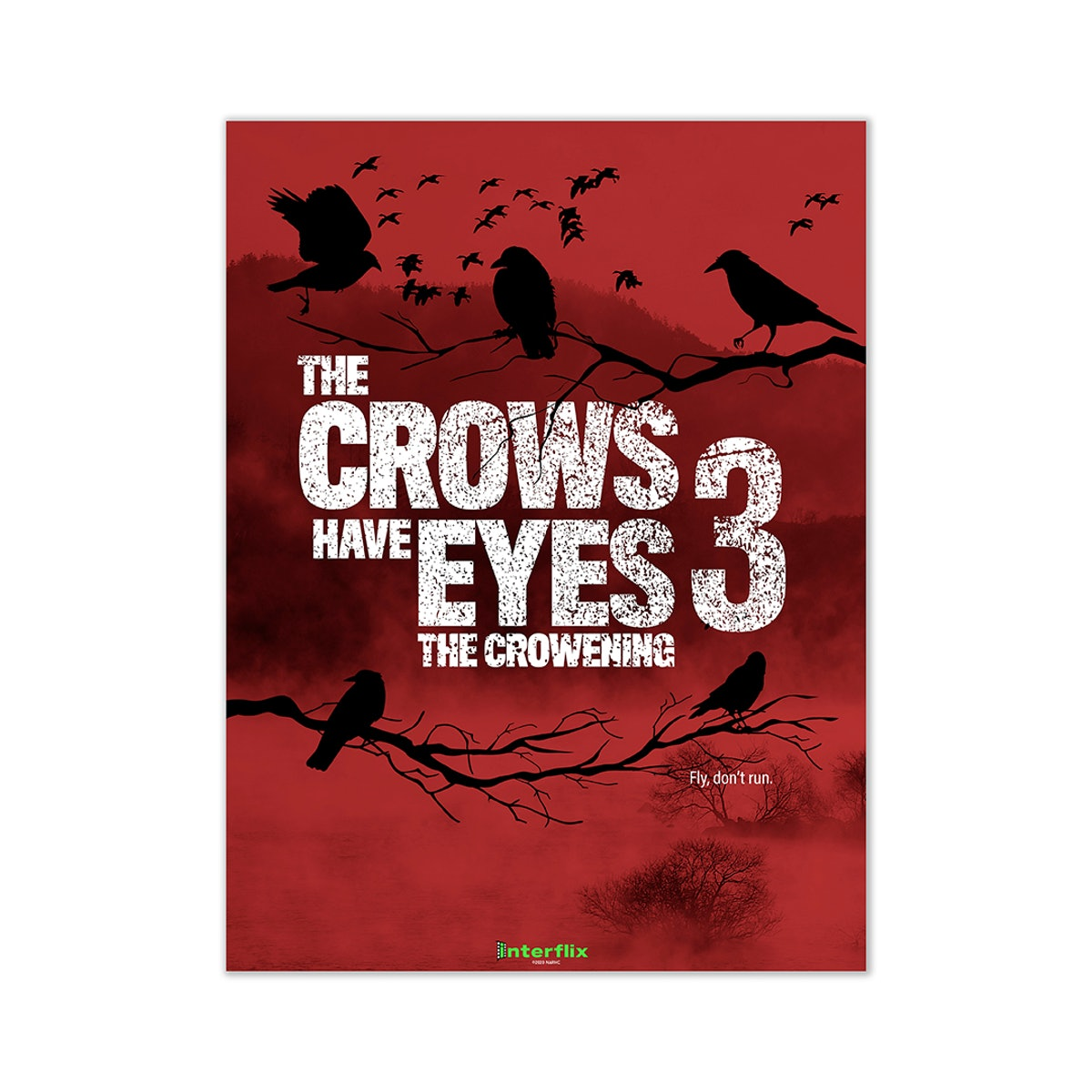 The Crows Have Eyes Poster