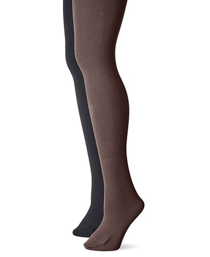 Muk Luks Fleece-Lined Tights (2-Pack)